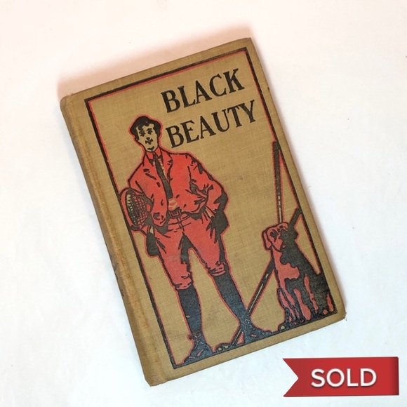 Vintage Other - Black Beauty  by Anna Sewell - 1902